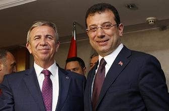 Mansur Yavaş'tan İmamoğlu'na destek! İstanbul'a gelecek