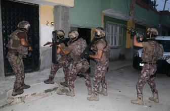 PKK'nın sokak eylemcilerine şafak vakti baskın
