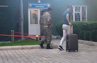 Ertaç Özbir Beşiktaş ile anlaştı soluğu askerde aldı