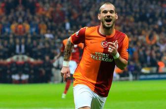 Sneijder bombası! Süper Lig'e geri dönüyor