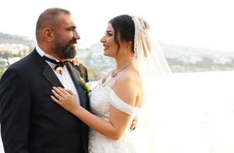 Ünlü iş adamı görkemli bir düğünle Bodrum'da dünyaevine girdi