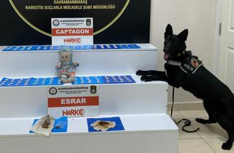 Kahramanmaraş'ta oyuncak bebekten uyuşturucu çıktı