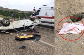 Ankara'da korkunç kaza! 1.5 aylık bebek kahretti