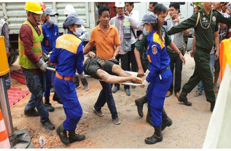 7 katlı inşaat çöktü! 7 ölü 21 işçi yaralı