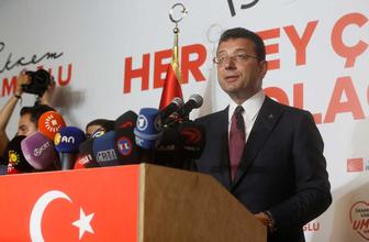 """Ekrem İmamoğlu Erdoğan'a seslendi """"Sizinle uyum içerisinde çalışmaya hazırım"""""""
