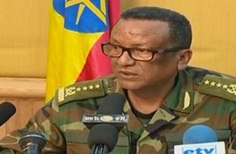 Etiyopya genelkurmay başkanı öldürüldü
