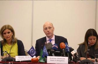 İstanbul seçimlerini izleyen Avrupa Konseyi heyeti başkanı Dawson topa tuttu!