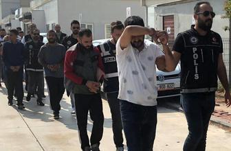 Adana'da narkotik operasyonunda 25 tutuklama