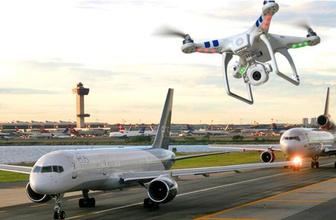 Uçağın üzerinden geçen drone İstanbul'da pilotu alarma geçirdi