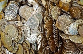 Erzurum'da 3 bin 200 altın sikke ele geçirildi