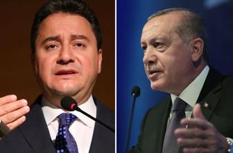 Ali Babacan Erdoğan görüşmesinde şaşırtan detaylar ortaya çıktı