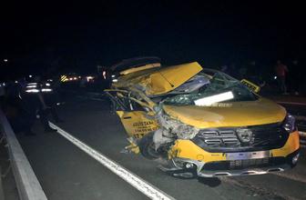Çanakkale'de erken terhis olan askerlere kaza şoku! 2'si ağır 5 yaralı