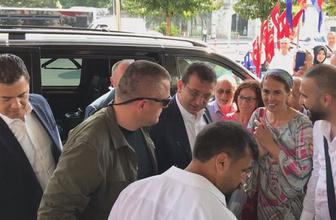 Ekrem İmamoğlu'nun İBB'ye gelişi sırasında ilginç anlar! Deterjan döktüler
