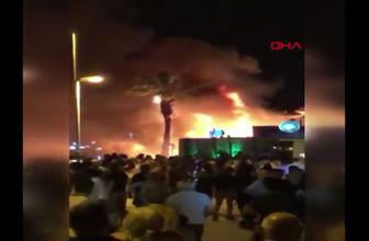 Marmaris'te dehşete düşüren olay Turistler büyük korku yaşadı