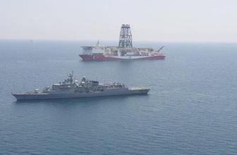 Yavuz sondaj gemisine Barbaros eşlik ediyor