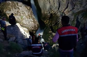 Kayseri'de selfie çeken genç kayalıklardan yuvarlandı