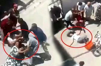 Mardin'de saç baş yolduran kavga! Kadınlar birbirine hiç acımadı