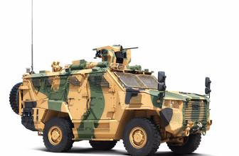 TSK'nın yeni zırhlı aracı Vuran kabiliyetleri ile göz dolduruyor