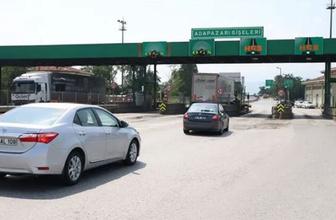 İzmit Doğu Kavşağı-Adapazarı Gişeleri 36 gün trafiğe kapatılacak