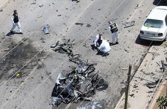 Hatay Reyhanlı'da hain bombalı saldırı! Patlamadan ilk görüntüler;