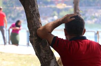 Adana'da intihara teşebbüs eden kadını kocası ağaca yaslanarak izledi