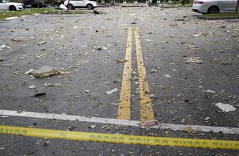 ABD'de bir AVM'de çok şiddetli patlama oldu