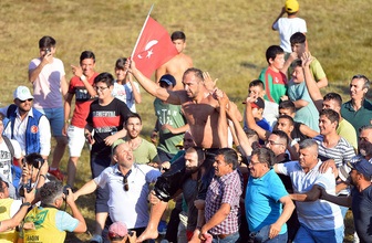 658. Tarihi Kırkpınar Yağlı Güreşleri'nde Ali Gürbüz başpehlivan oldu