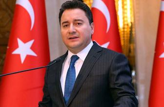 Ali Babacan resmen duyurdu! AK Parti'den istifa etti