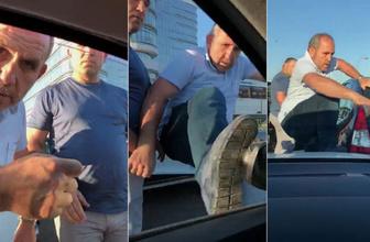 Trafikte terör estiren baklavacı Seydioğlu'nun tabelaları sökülecek