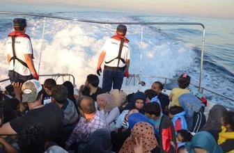 Göçmenler akın akın geliyorlar