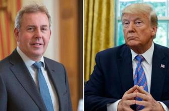 Trump'la sürtüşen İngiltere'nin ABD Büyükelçisi istifa etti