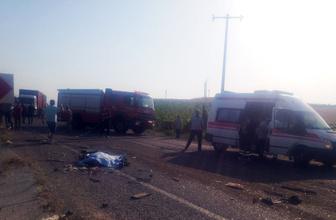 Manisa Salihli'de zincirleme kaza 6 ölü 20 yaralı