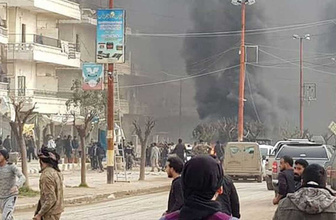 Afrin'de bomba yüklü araçla saldırı: 4 ölü