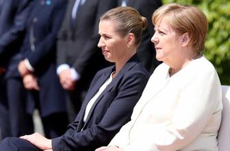 Almanya Başbakanı Angela Merkel'in titreme nöbetine özel çözüm
