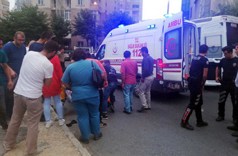 Şüpheliye ateş eden polisin mermisi sekti yoldan geçen kadını vurdu