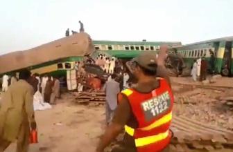 Pakistan'da iki tren çarpıştı: 11 ölü, 67 yaralı