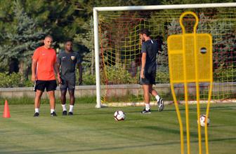 Kayserispor'da yeni transferler ilk antrenmana çıktı