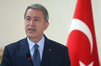 Milli Savunma Bakanı Hulusi Akar: Terör belasını bitirmekte kararlıyız