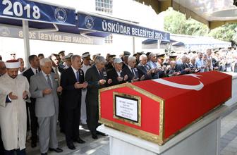 Akar ve komuta kademesinden Orgeneral Mehmet Hikmet Bayar veda
