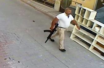 Elinde tüfek belinde tabanca ile cinayete gitmiş