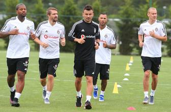 Beşiktaş antrenmanlara hız kesmeden devam ediyor