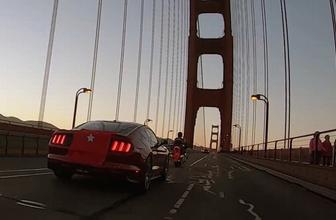 15 Temmuz şehitleri Golden Gate köprüsünde anıldı