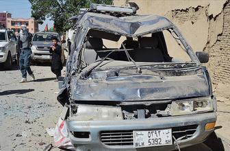 Afganistan'da patlama 9 ölü