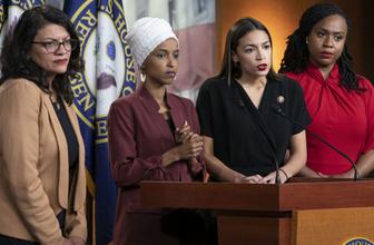 Trump'ın ırkçı sözlerine Demokrat kadın Kongre üyelerinden yanıt: Biz dört kişiden fazlasıyız
