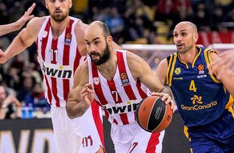 Olympiakos'ta Vassilis Spanoulis'in sözleşmesi 1 yıl uzatıldı