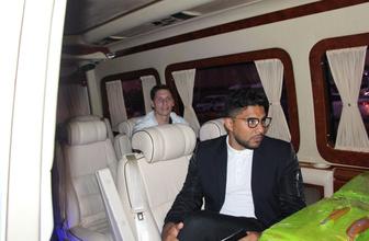 Fırtına'nın yeni transferi Gaston Campi Trabzon'a ayak bastı
