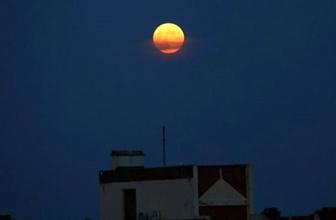 Parçalı Ay Tutulması İstanbul'da da gözlendi