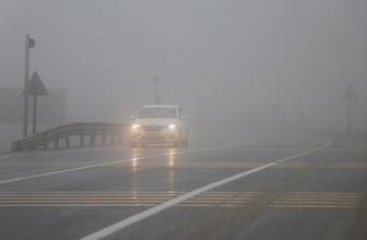 Bolu Dağı'nda yoğun sis Görüş 15 metreye kadar düştü