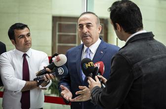 Dışişleri Bakanı Çavuşoğlu'ndan Erbil'deki saldırıya ilişkin açıklama
