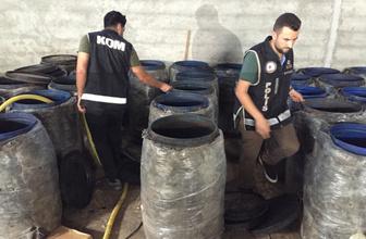 Son 21 günde 9 kişi hayatını kaybetmişti! Adana'da 5 bin 400 litre sahte içki ele geçirildi
